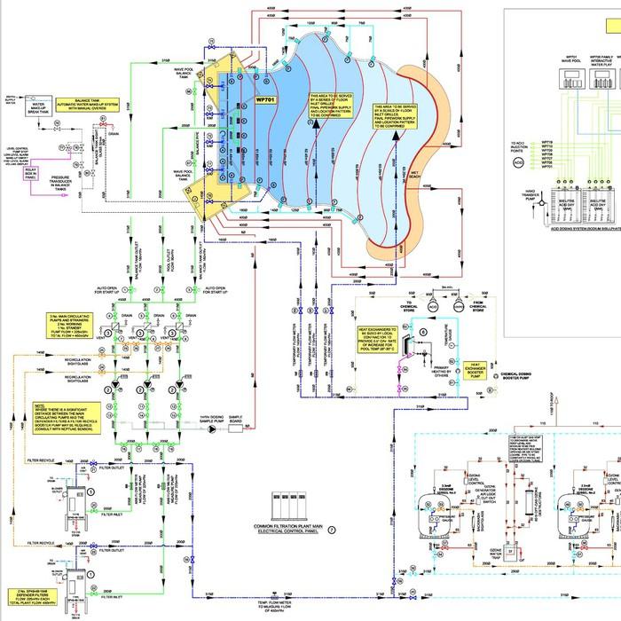 Euro Pools Design - Schematic Design